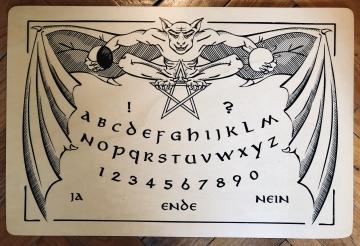 Ouija-Board Gargoyle hell - Aktion!