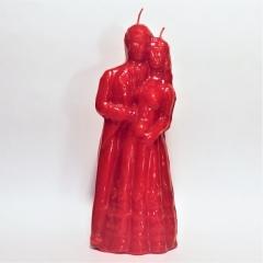 Heiratskerze rot