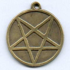 Pentagramm mit Spitze nach unten