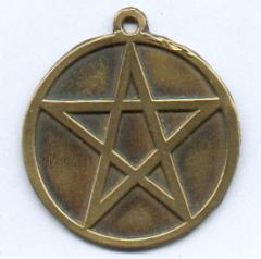 Pentagramm mit Spitze nach oben